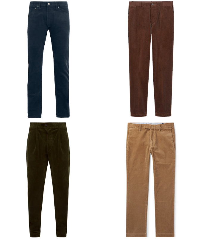 the best corduroy trousers for men