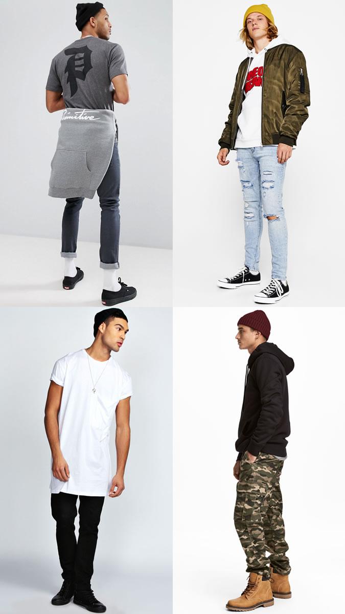 Men's street wear beanies - how to wear