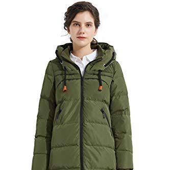 Women's Drawstring Hooded Puffer Jacket
