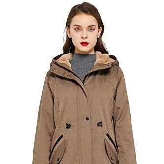 Women's Thicken Fleece Lined Parka