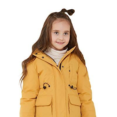 Girl's Thickened Down Jacket