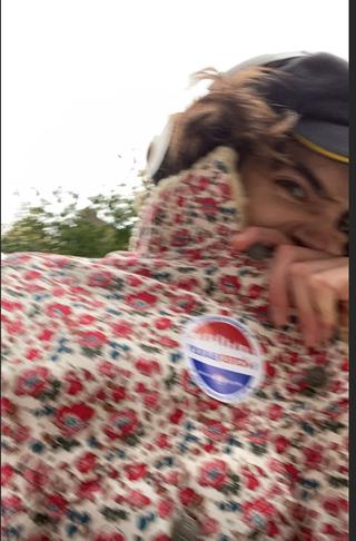 timothée chalamet voting